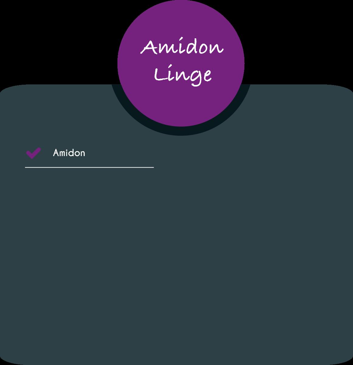 Amidon linge